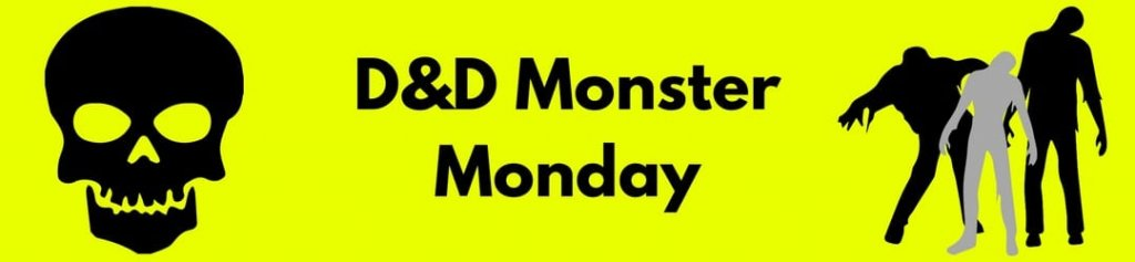 D&D Monster Monday Header Image