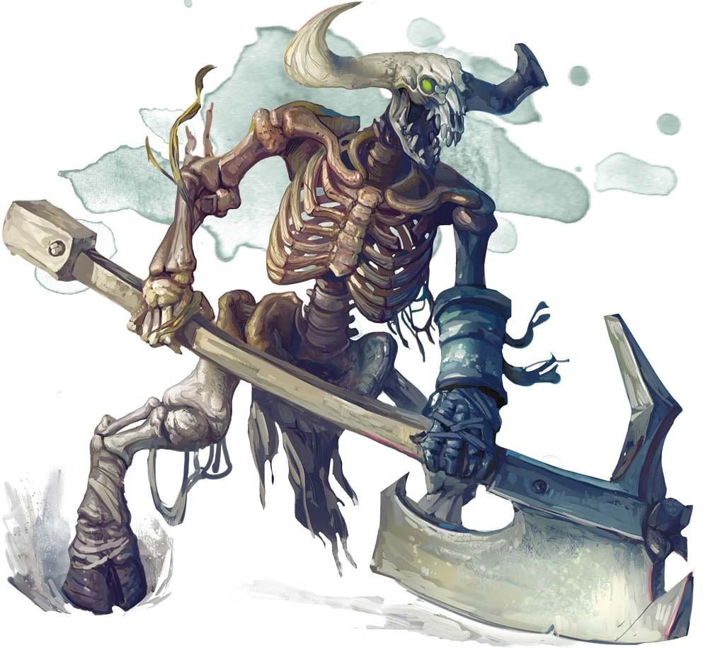 Minotaur Skeleton 5e