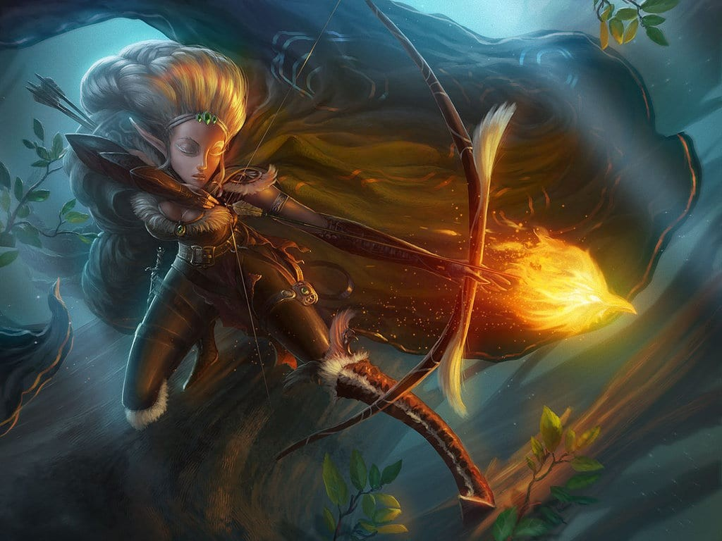 Arcane Archer Elf