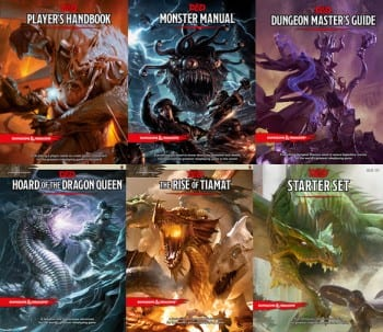 D&D Source Books Charactermancer