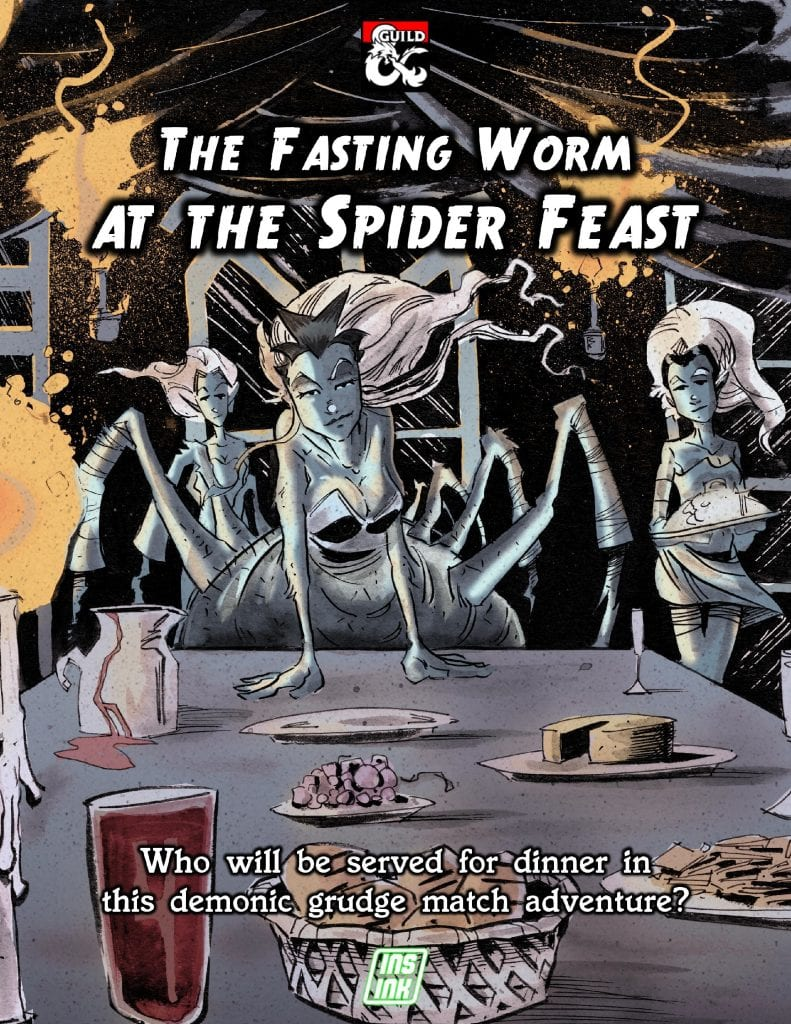 The Fasting Worm at the Spider Feast Cover