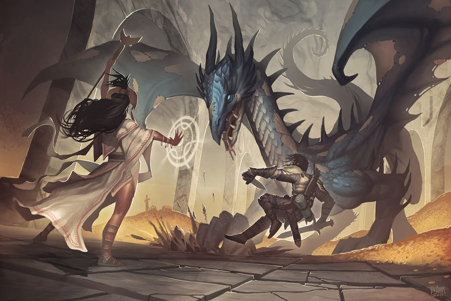 dragon boss fight D&D 5e