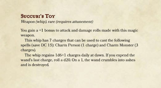 Homebrew for Whips in D&D 5e - Dungeon Solvers