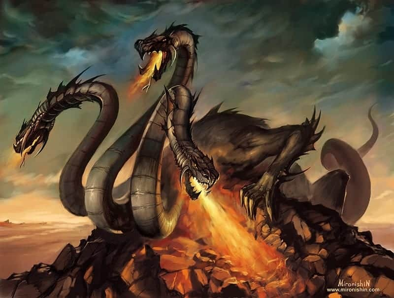 D&D Monster Monday: Hydra - Dungeon Solvers
